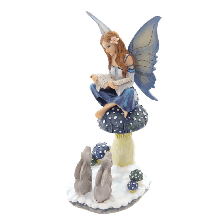 Tales of Avalon - Storyteller Snow Fairy | Fairy Figurines - Australia | Earth Fairy