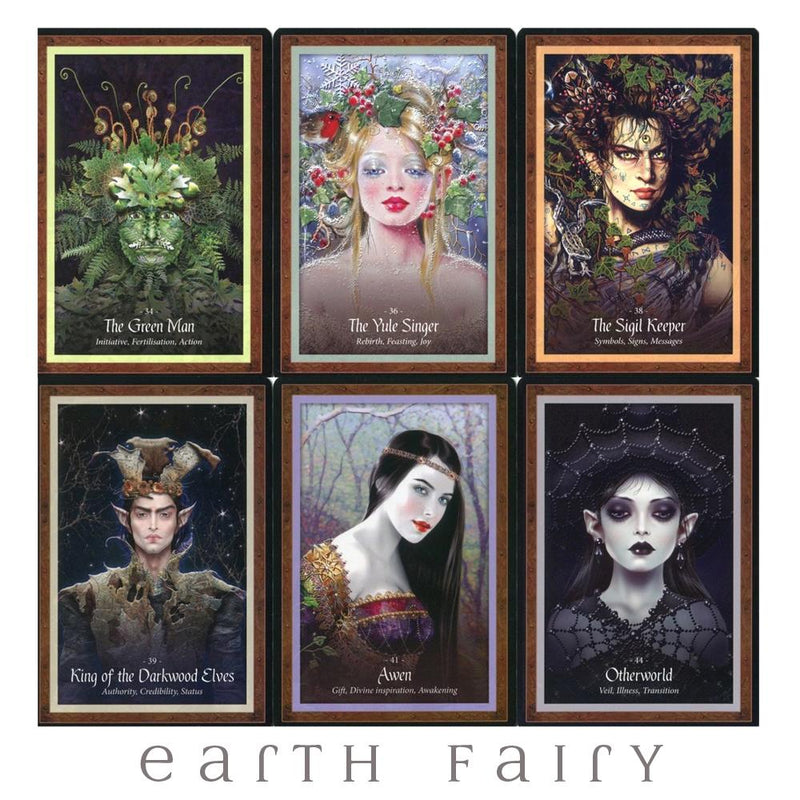 The Faery Forest - An Oracle of the Wild Green World from The Beautiful Book Collection by Earth Fairy