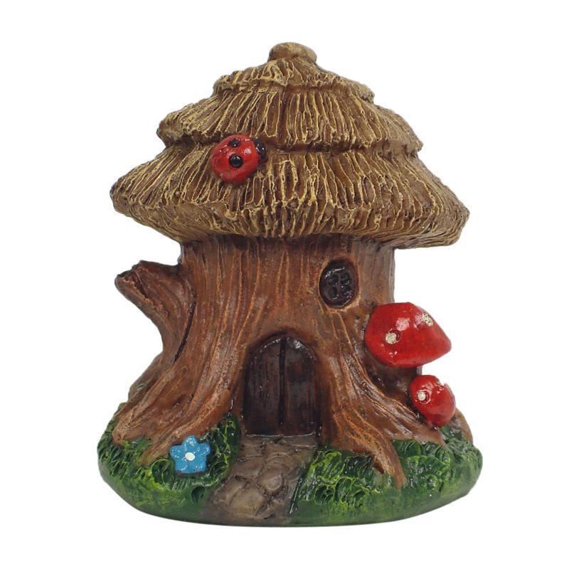 Fairy Gardens The Lucky Gnome House - Micro Earth Fairy