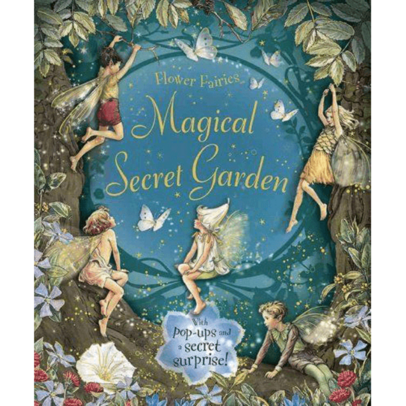 Books & Stationery The Magical Secret Garden Earth Fairy