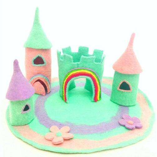 Fairy Play The Unicorn Castle - Large Earth Fairy