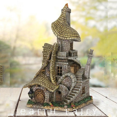 The Whimsical House - Solar | Fairy Garden Houses | Earth Fairy