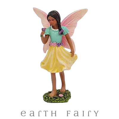 Fairy Emma from The Willow Fairy Garden Collection by Earth Fairy