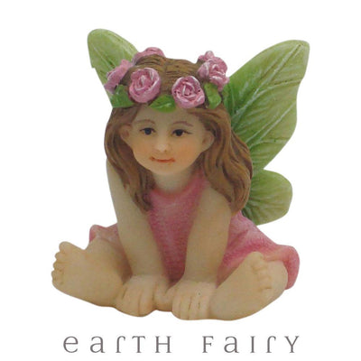 Fairy Sweet Pea from The Willow Fairy Garden Collection by Earth Fairy
