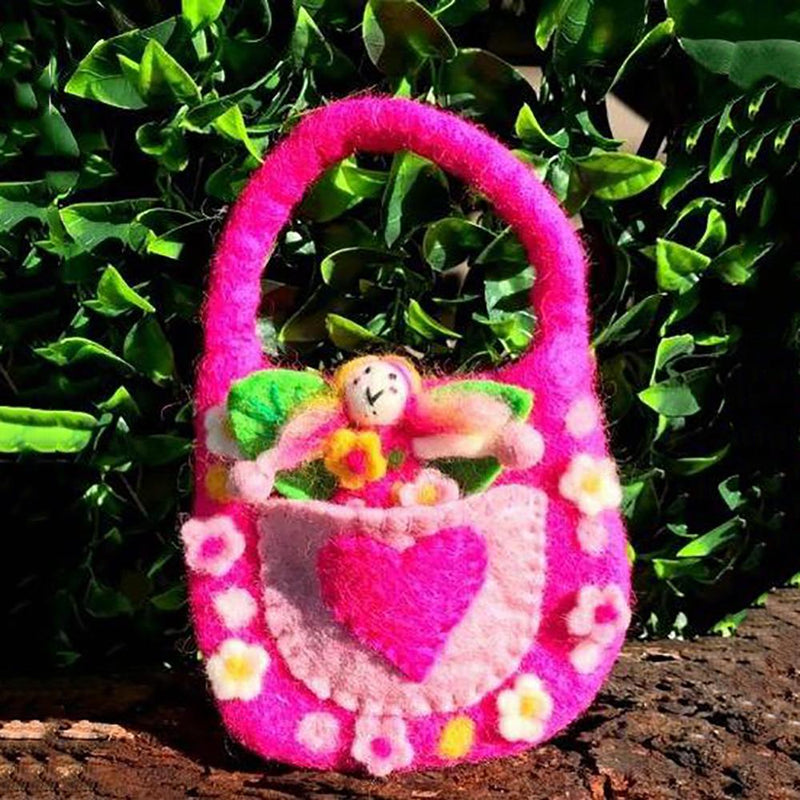 The Wonder Faery Magical Bag - Pink - Large | Fairy Play - Australia | Earth Fairy