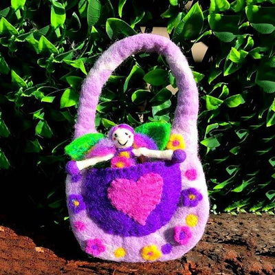The Wonder Faery Magical Bag - Purple - Small | Fairy Play - Australia | Earth Fairy