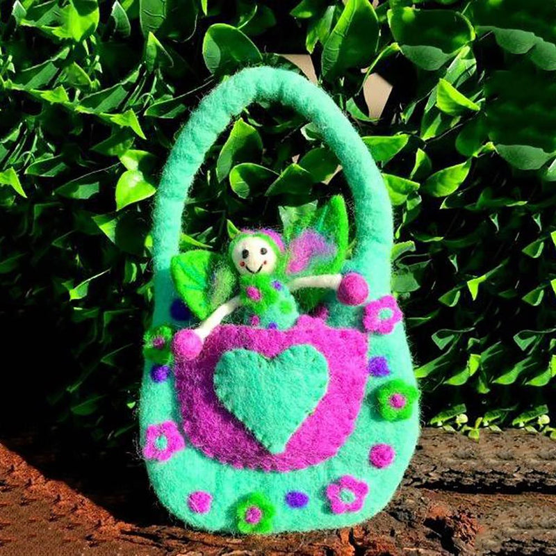 The Wonder Faery Magical Bag - Turquoise - Large  | Fairy Play - Australia | Earth Fairy