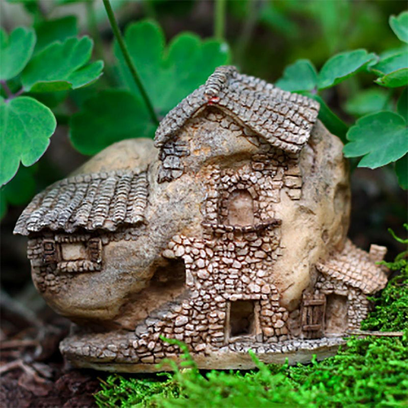 Fairy Garden Houses - Three Story Fairy House - Micro Earth Fairy