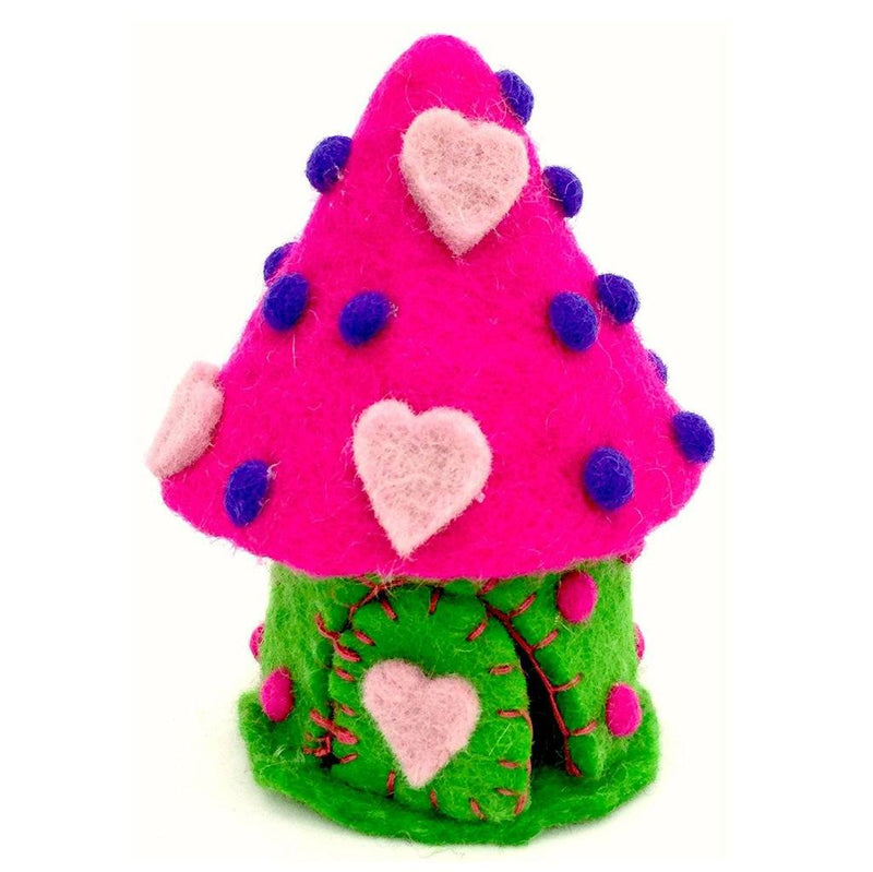 Tiny Love Spirit Faery Home | Fairy Play - Felted Toys Australia | Earth Fairy