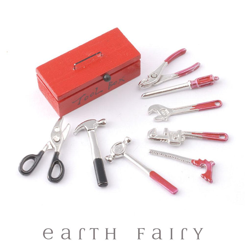 Tool Box | Fairy Garden Miniatures & Collectibles - Australia | Earth Fairy