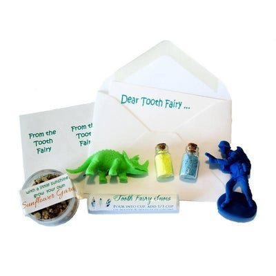 Fairy Play Tooth Fairy Kit Boys Earth Fairy