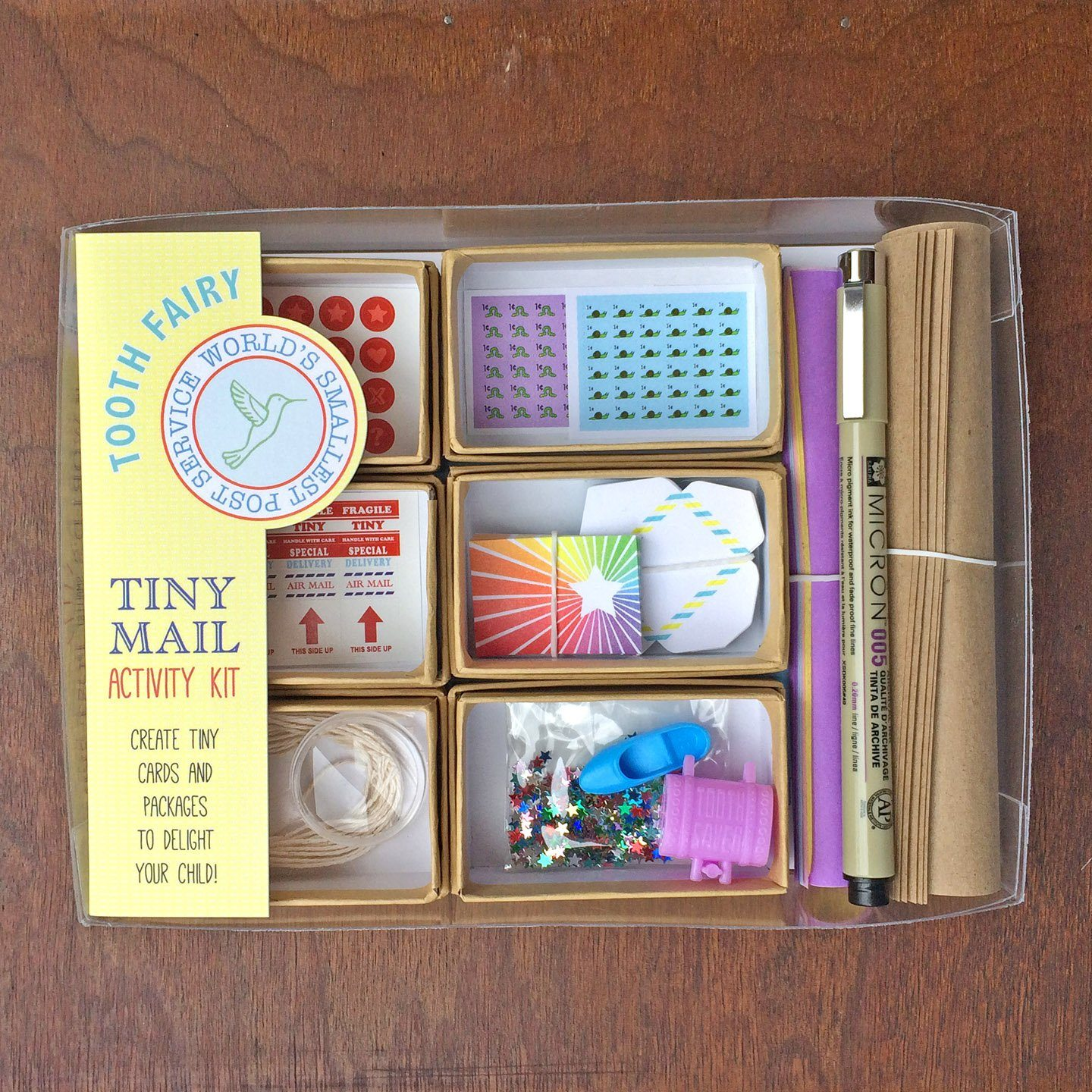 Tooth Fairy - Tiny Mail Kit | Fairy Books & Stationery | Earth Fairy
