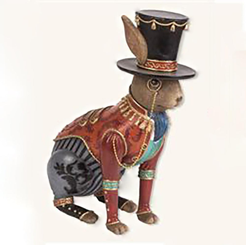 Room Accents Top Hat Rabbit with Monocle Earth Fairy