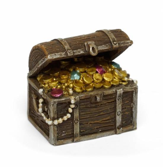 Fairy Gardens Treasure Chest Earth Fairy