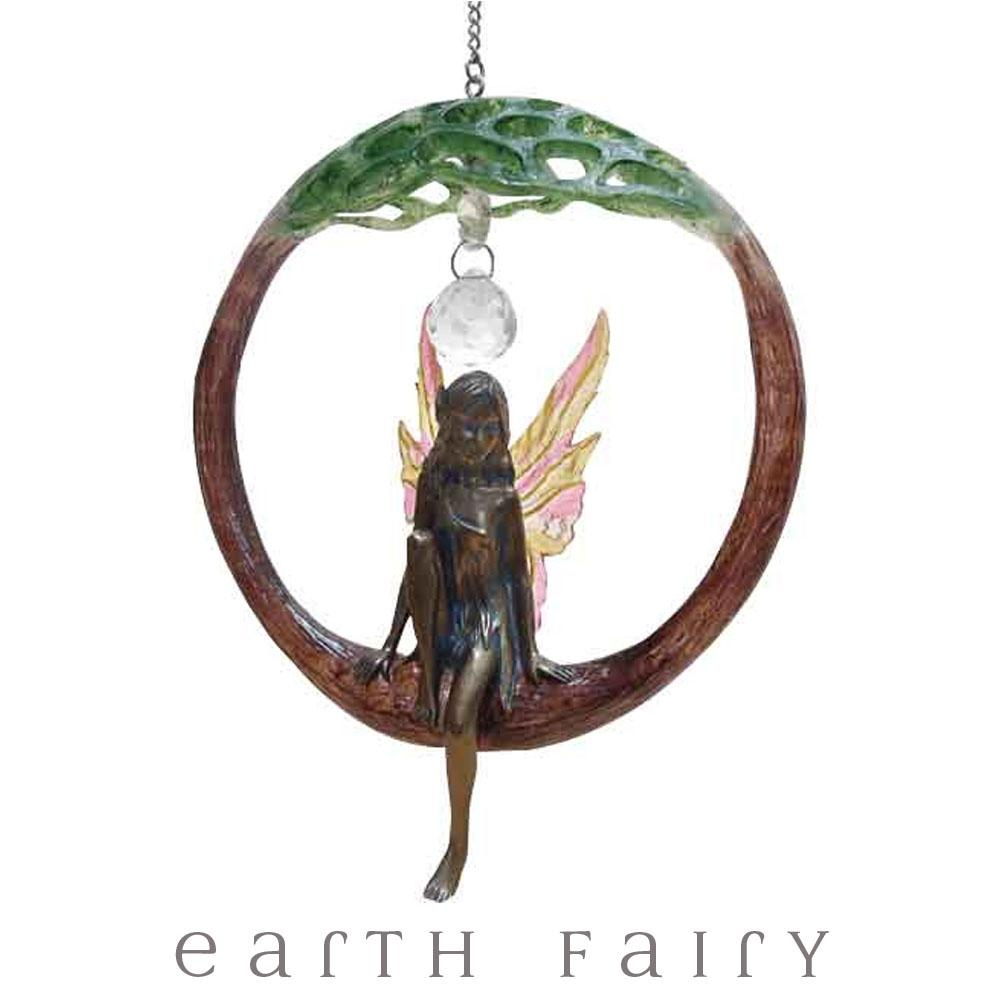 Tree of Life Hanging Fairy Dream Catcher | FREE SHIPPING Dream Catchers | Earth Fairy