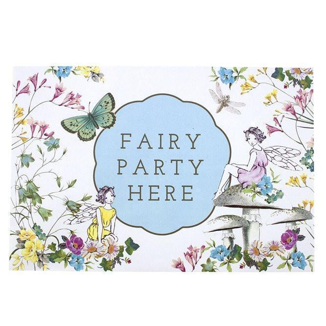 Party Truly Fairy Party Door Sign Earth Fairy