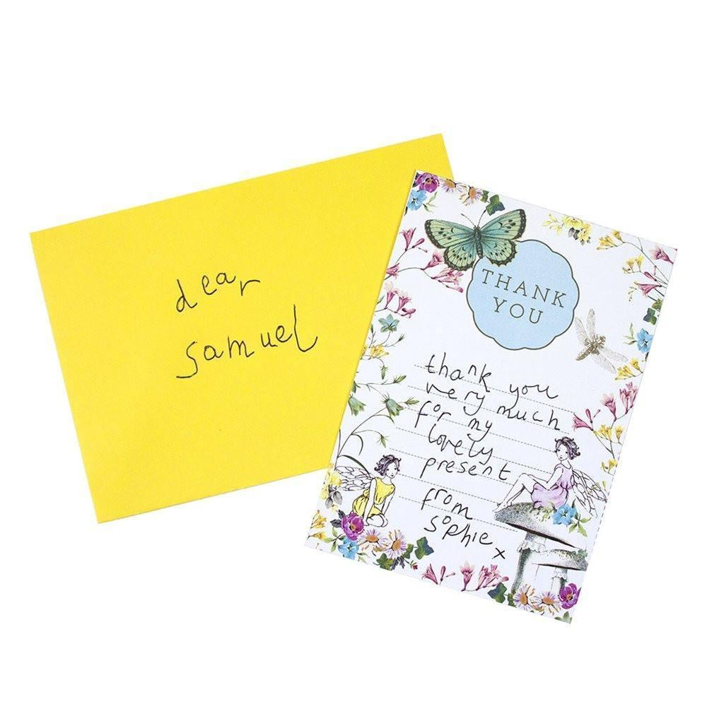 Party Truly Fairy Thank You Card Earth Fairy