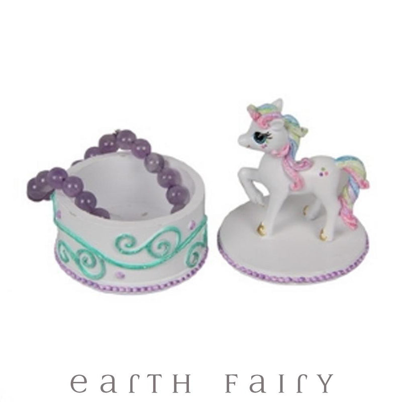 Unicorn Trinket Box from The Unicorn Gift Collection by Earth Fairy