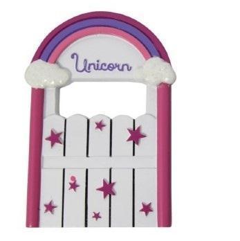 Fairy Doors Unicorn Door Pink Earth Fairy