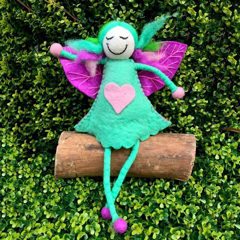 Unicorn Faery - Super Large | Hand Felted Toys - Australia | Earth Fairy