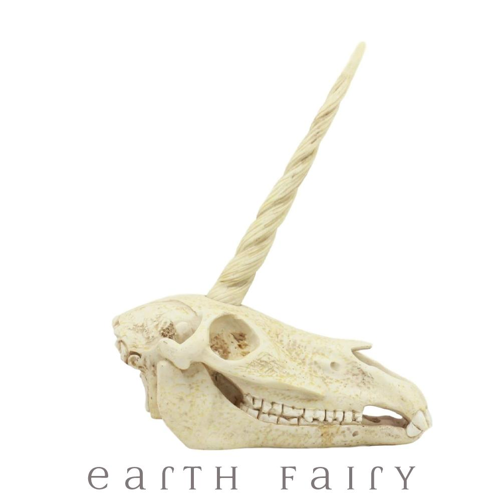 Unicorn Skull from The Unicorn Figurine Colleciton by Earth Fairy