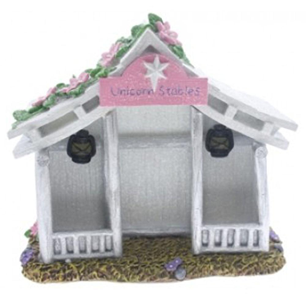 Fairy Houses Unicorn Stable - Solar Earth Fairy