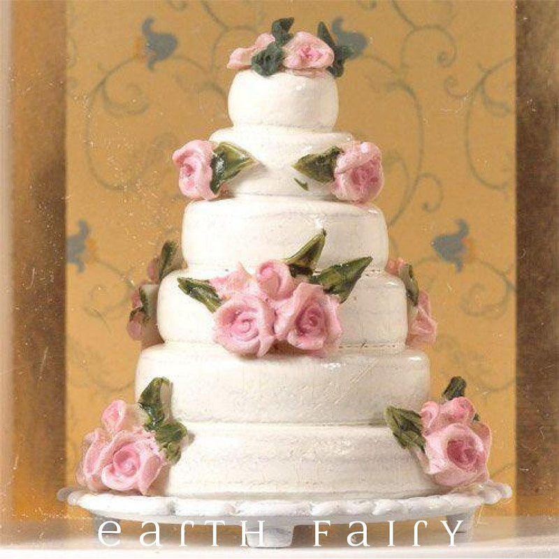 Wedding Cake | Fairy Gardens & Miniatures | Earth Fairy