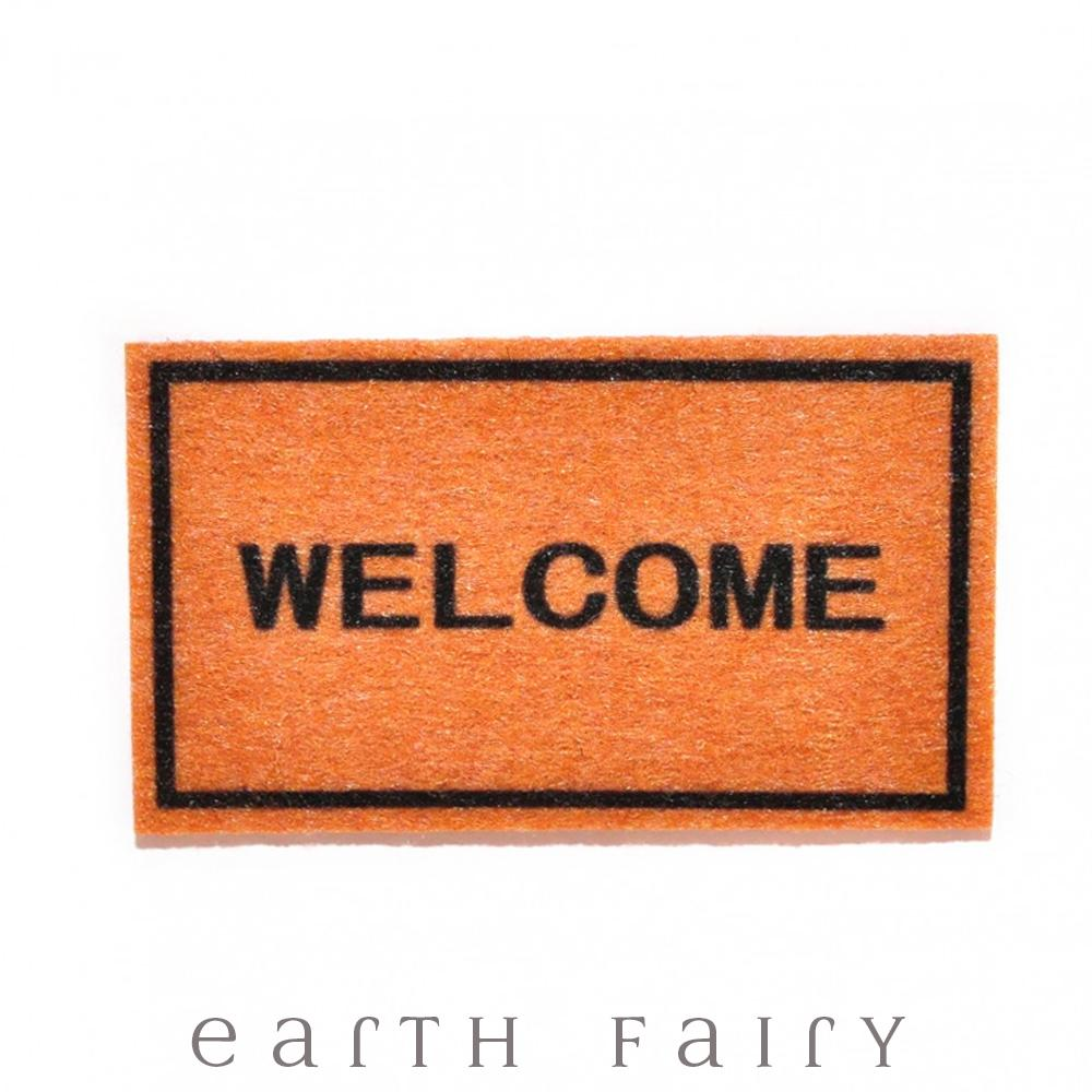 Miniature Door Mat from The Fairy Garden Dollhouse Collection by Earth Fairy