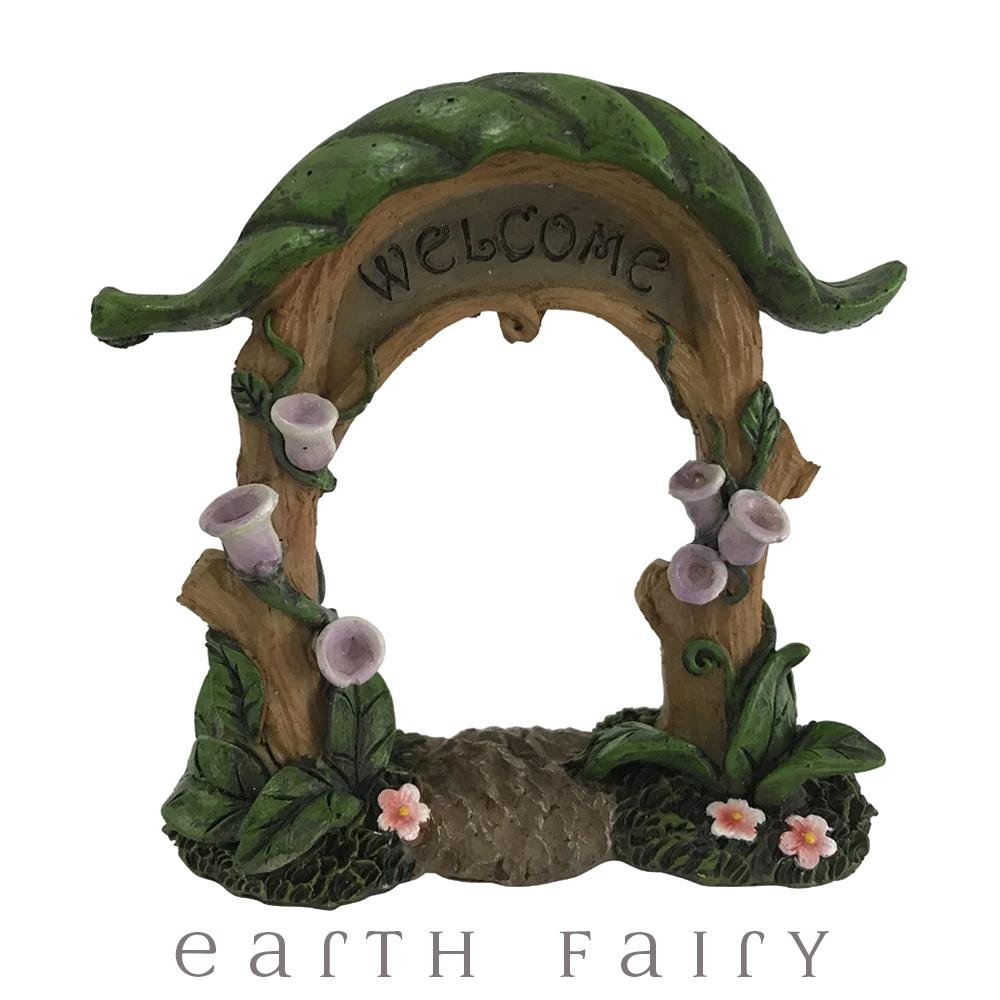 """Welcome"" Garden Arbour 
