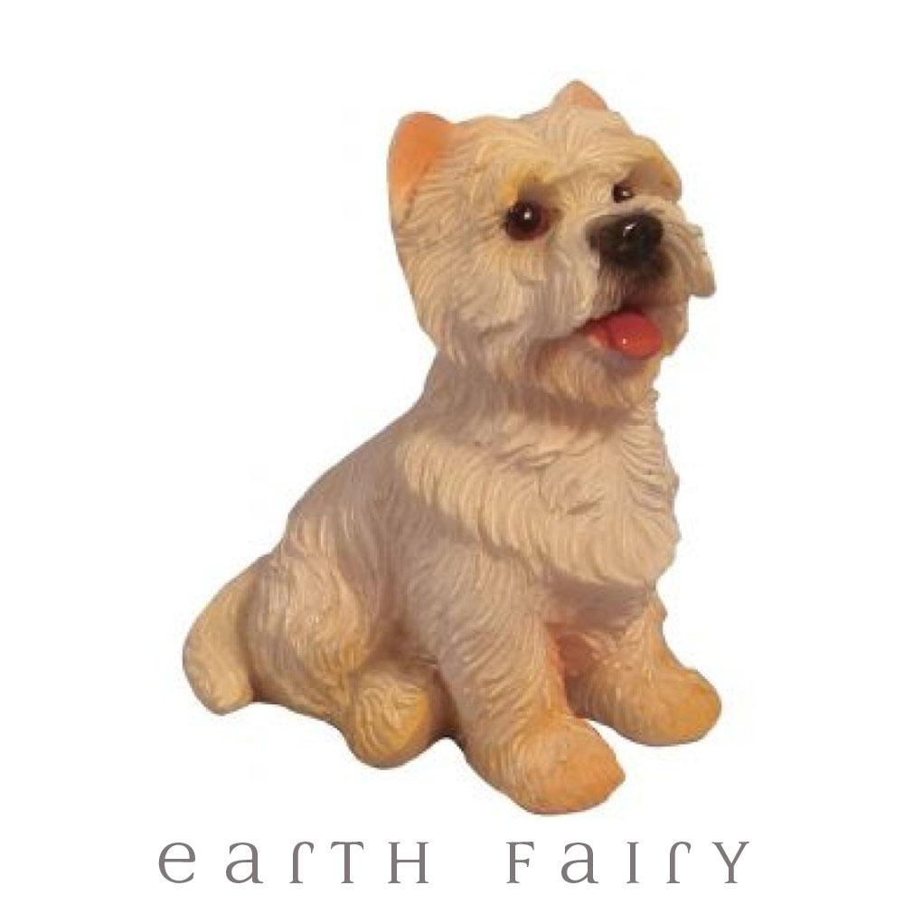 Westie - Sitting | Fairy Gardens - Australia | Earth Fairy
