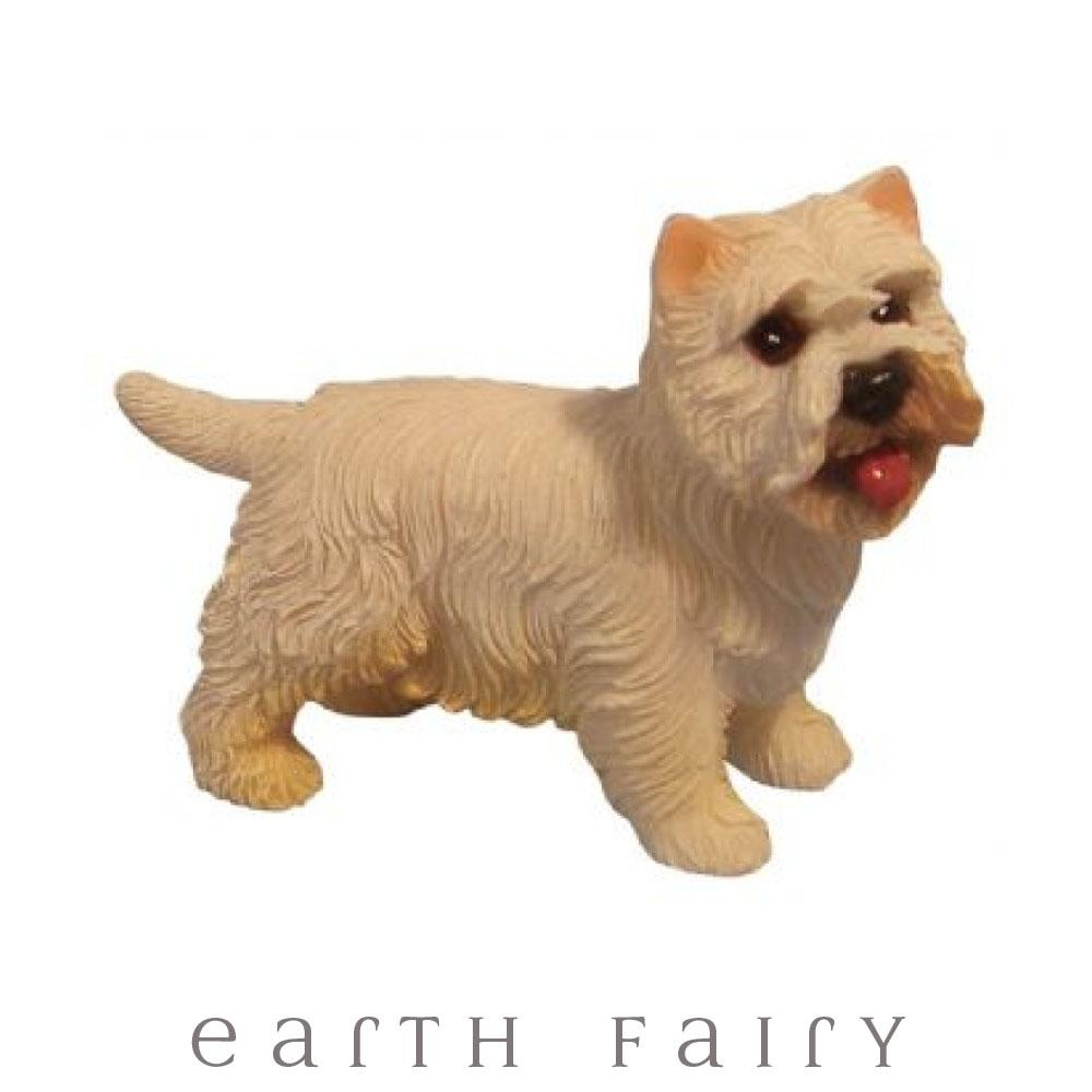 Westie - Standing | Fairy Garden Animals - Australia | Earth Fairy