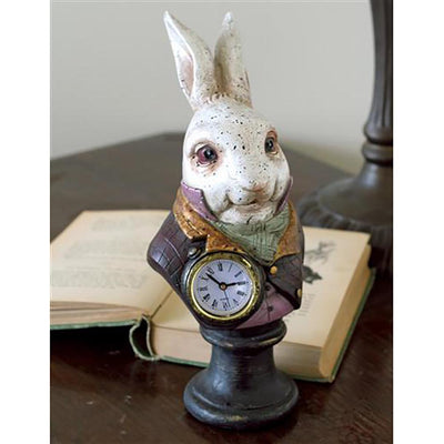 White Rabbit Clock | Fairy Gifts & Decor | Earth Fairy