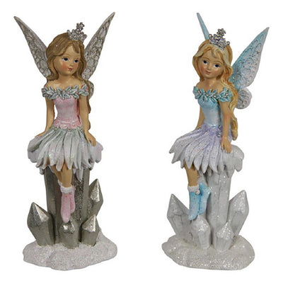 Winter Fairy - Sitting on Icicles | Fairy Figurines - Australia | Earth Fairy