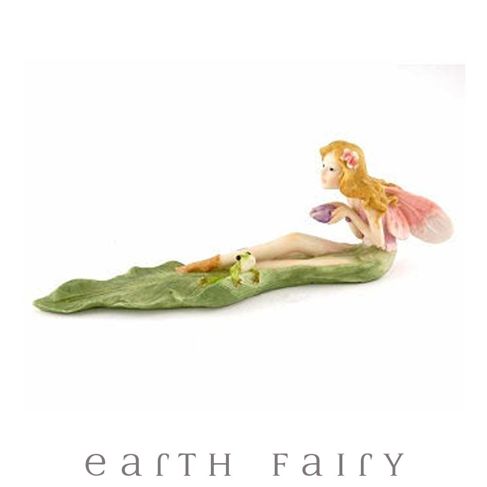 Wishing Fairy with Frog Incense Holder from The Fairy Inspired Gift Collection by Earth Fairy