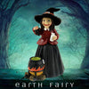 Witch with Cauldron, from The Miniature Fairy Garden Figurine Collection by Earth Fairy