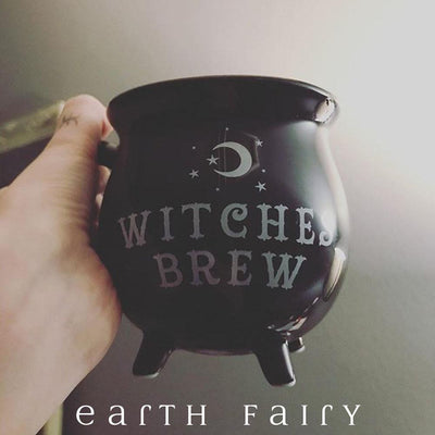 Witches Brew Cauldron Mug | Witchy Things - Fantasy Gifts | Earth Fairy