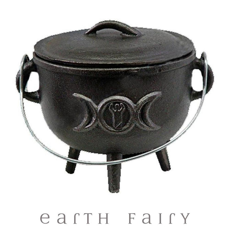 Witch's Cauldron - Triple Moon | Witchy Things | Earth Fairy