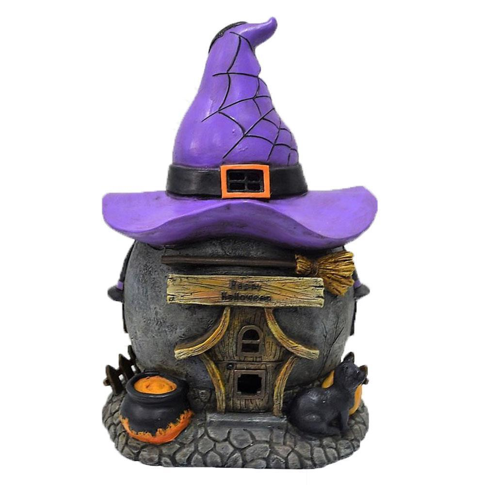 Witch's Hat House - Solar | Fairy Garden Houses | Earth Fairy