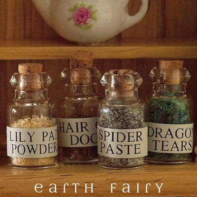 Witches Potions | Miniatures & Fairy Gardens | Earth Fairy