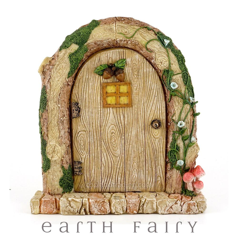 Wood Log Fairy Door | Fairy Garden Doors - Australia | Earth Fairy