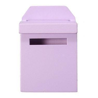 Fairy Doors Wooden Fairy Mail Box Mauve Earth Fairy