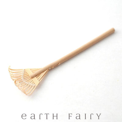 Wooden Leaf Rake | Fairy Garden Accessories - Australia | Earth Fairy