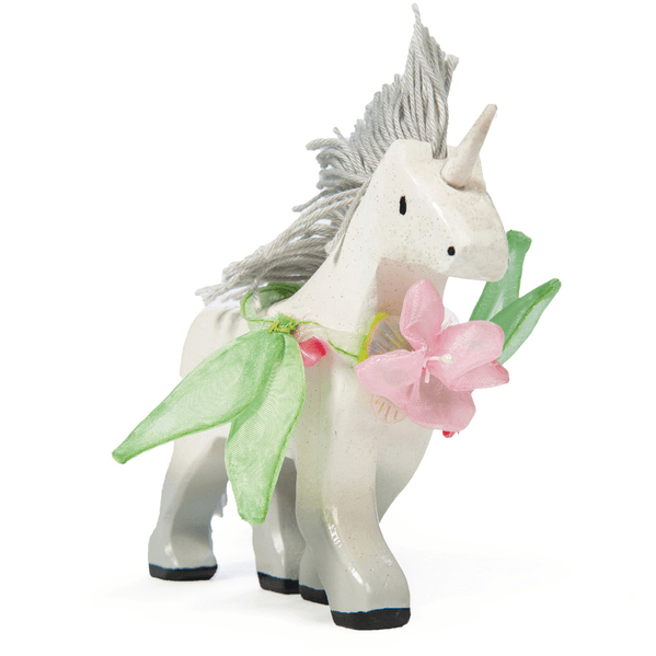 Fairy Play Wooden Unicorn Earth Fairy