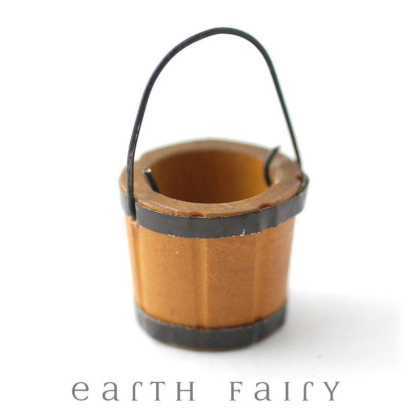 Wooden Water Pail | Fairy Gardens - Australia | Earth Fairy