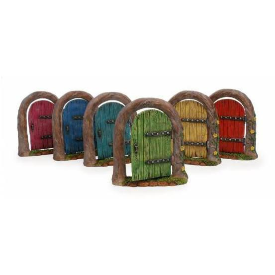 Fairy Doors Woodland Opening Fairy Door Raspberry Pink Earth Fairy
