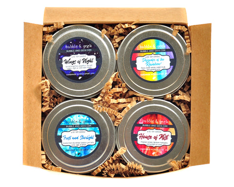 Ice and Fire Candle Tin Gift Set