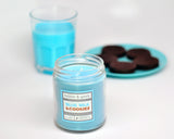 Blue Milk and Cookies Scented Soy Candle Jar