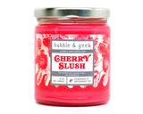 Cherry Slush Scented Soy Candle Jar