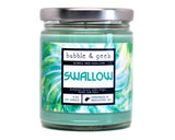 Swallow Scented Soy Candle Jar