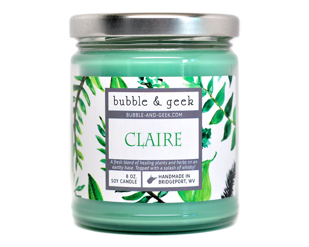 Claire Scented Soy Candle Jar